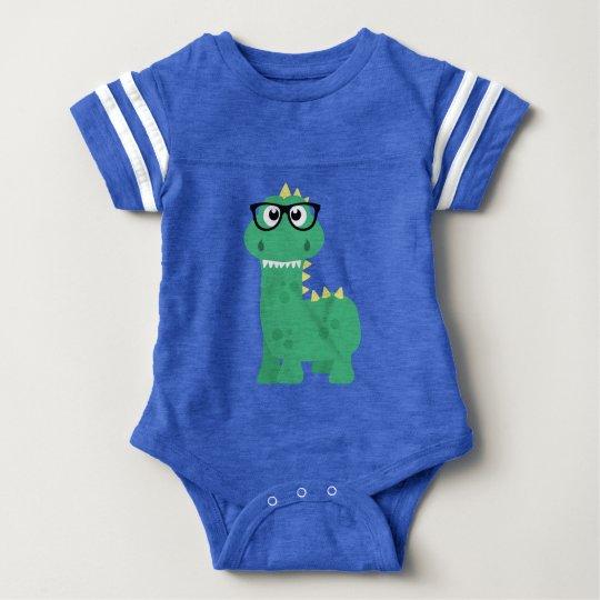 Cute Dinosaur Geekasaurus Baby Romper Playsuit