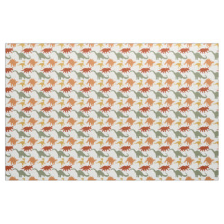 Cute Dinosaur Print Fabric