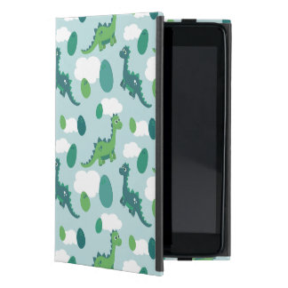 Cute dinosaurs and eggs iPad mini case