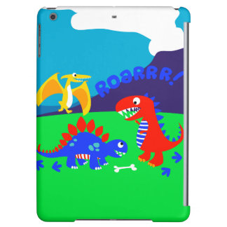Cute dinosaurs iPad air case