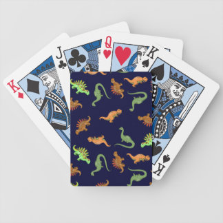 Cute Dinosaurs Playing Cards