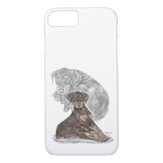 Cute Doberman Pinscher Puppy iPhone 7 Case