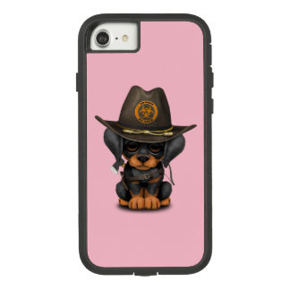 Cute Doberman Puppy Zombie Hunter Case-Mate Tough Extreme iPhone 8/7 Case