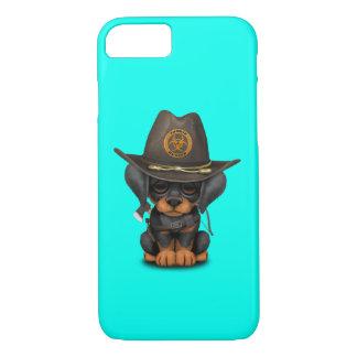 Cute Doberman Puppy Zombie Hunter iPhone 8/7 Case