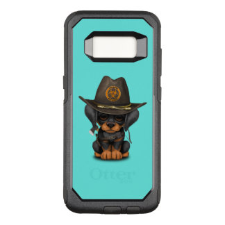 Cute Doberman Puppy Zombie Hunter OtterBox Commuter Samsung Galaxy S8 Case