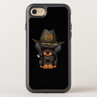 Cute Doberman Puppy Zombie Hunter OtterBox Symmetry iPhone 8/7 Case