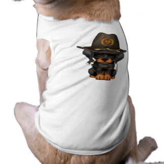 Cute Doberman Puppy Zombie Hunter Shirt