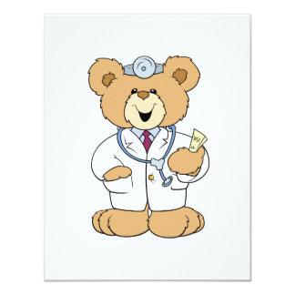Cute Doctor Teddy Bear Card