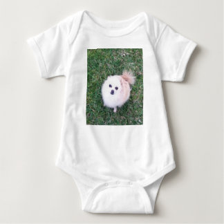 Cute Dog Baby Bodysuit