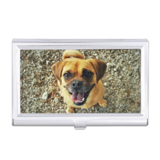 Cute Dog Case For Business Cards