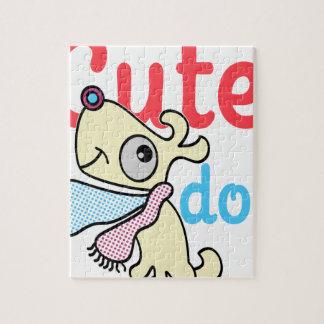 cute dog cool design puzzles