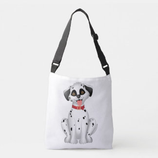 Cute dog Dalmatian Crossbody Bag