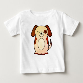 Cute Dog Design Baby T-Shirt