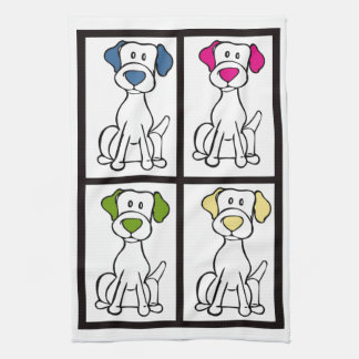 Cute Dog Dishtowel - Labrador Kitchen Towel