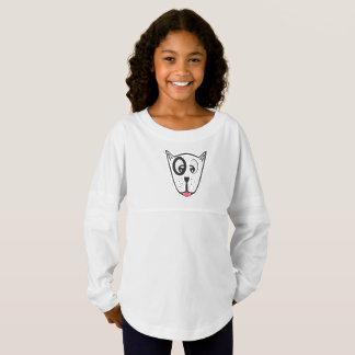 Cute Dog Face Jersey Shirt