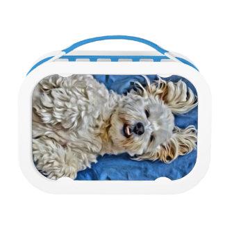 Cute Dog Lunchbox Tin