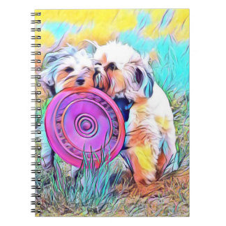 Cute dog notebook