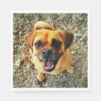 Cute Dog Paper Napkins