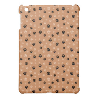 Cute Dog Paw Prints iPad Mini Case Cover