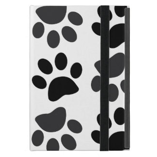 Cute Dog Paw Prints iPad Mini Case with Kickstand