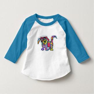 Cute dog print for kids T-shirt
