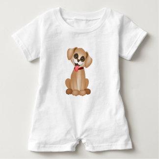 Cute dog / puppy baby romper