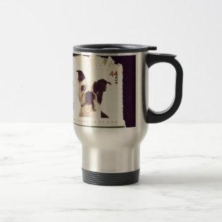 Cute Dog Stamped Travel Mug