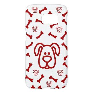 Cute Dog Theme Samsung Galaxy S7 Case