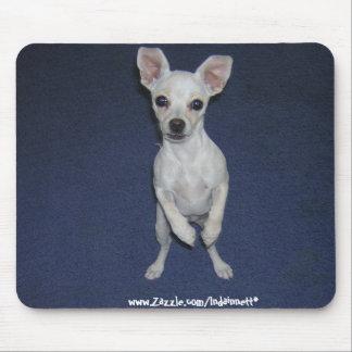 Cute Dog Up-Mousepad. Mouse Pad