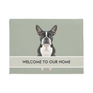 Cute Dog Welcome Mat