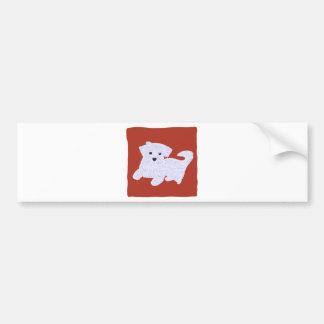 Cute Doggie Bumper Sticker