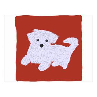 Cute Doggie Postcard