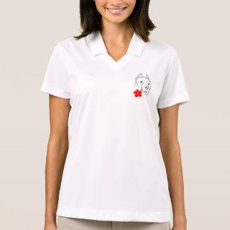 Cute Dogs Women's Nike Dri-FIT Pique Polo Shirt