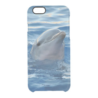 Cute Dolphin Clear iPhone 6/6S Case
