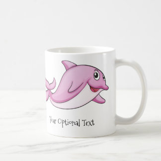 Cute Dolphins custom text mugs
