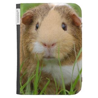 Cute Domestic Guinea Pig Kindle Folio Cases