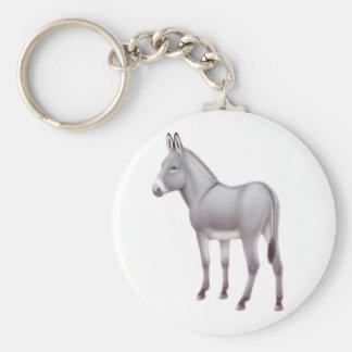 Cute Donkey Keychain