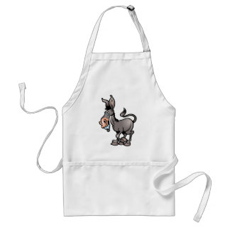 Cute Donkey Standard Apron