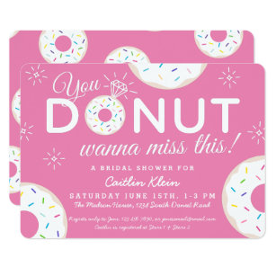 Funny Bridal Shower Invitations Announcements Zazzle Ca