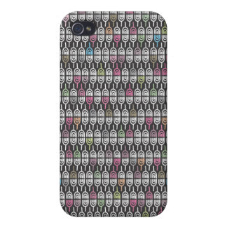 Cute doodle pattern iphone case cases for iPhone 4