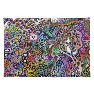 cute Doodle Placemat