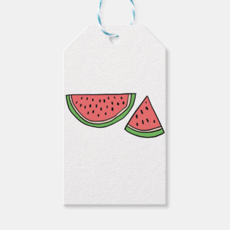 CUTE DOODLE WATERMELON GIFT TAGS