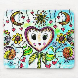 Cute Doodles Mouse Pad