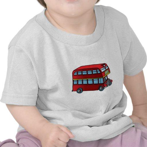 Cute Double Decker Bus T Shirt