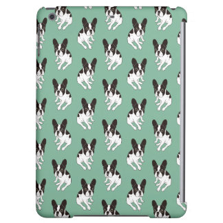 Cute double hooded pied Frenchie is chilling Case For iPad Air