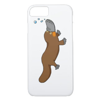cute duck billed platypus iPhone 8/7 case