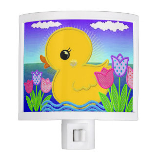 Cute Ducky Baby Nightlight Night Lites