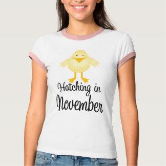 Cute Due In November Announcement T-shirt