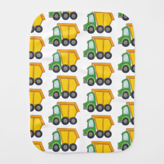 Cute Dumptruck Burp Cloth
