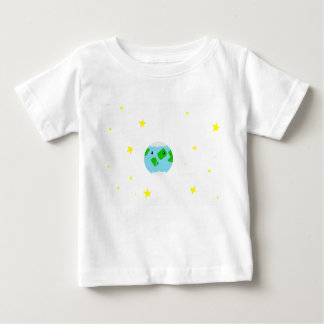 Cute earth baby t-shirt (Your own colour)